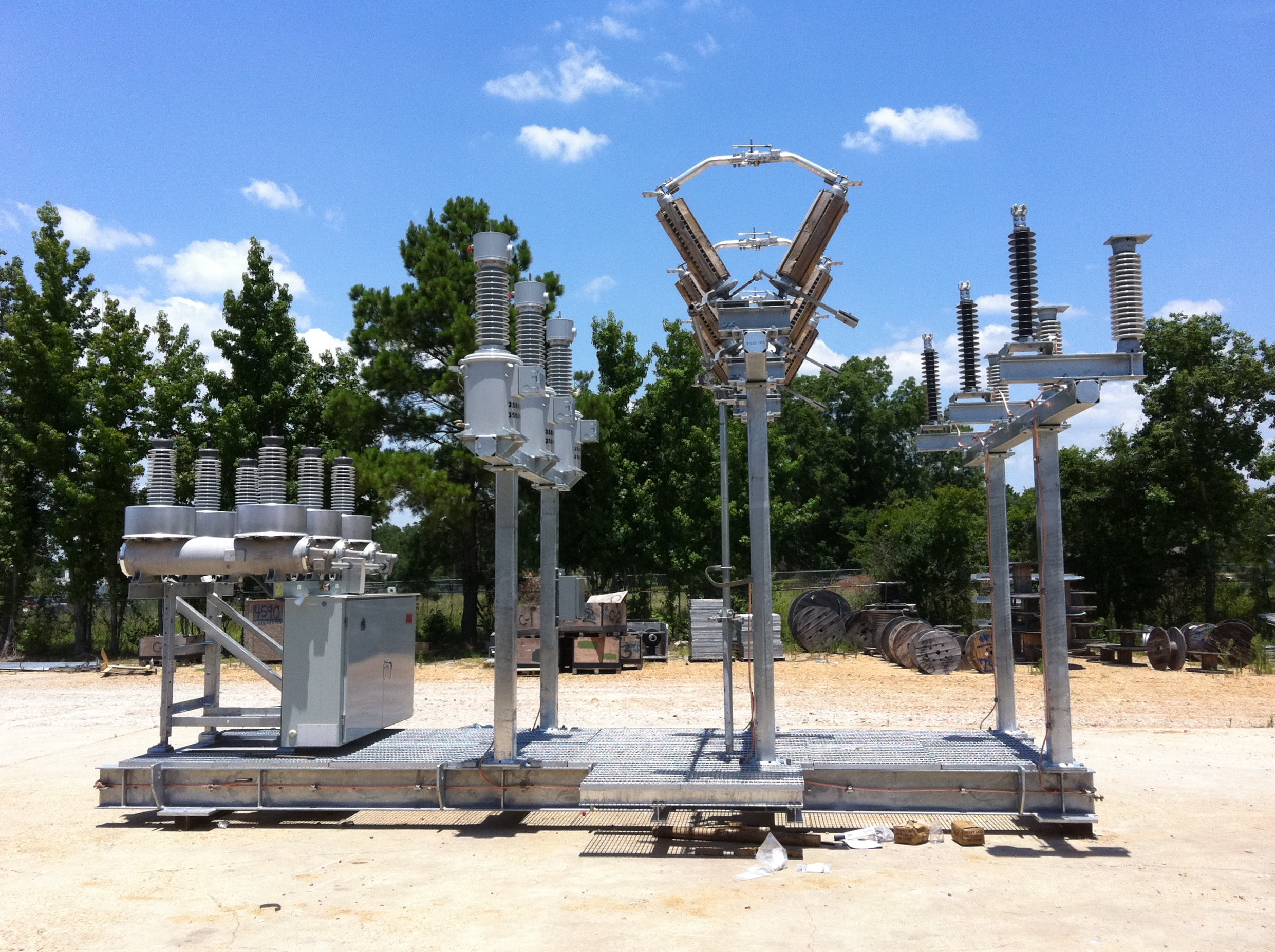 High Voltage Distribution