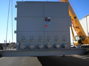 Misclleanous – ESS Metron HV Portable Substation LV End view